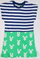 John Lewis  Donna Wilson girls summer jersey print dress age 1-8 rrp £20 rabbit