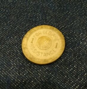 Vintage Oklahoma Sales Tax Token