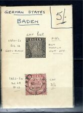 German State - Baden x 2 - all unchecked
