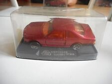 Guisval Mercedes 500 SEC in Bordeaux Red on 1:43 in Box