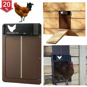 Automatic Chicken Coop Door Light-sensitive Automatic Chicken House Door High UK