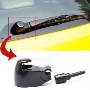 Rear Windshield Wiper Arm Cap Washer Nut Cover Nozzle Jet For VW Skoda Octavia