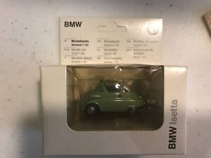 BMW Isetta Model, 1:43 Scale, Green, Made in W. Germany by GAMA for BMW
