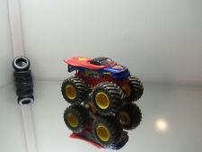 2011 Hot Wheels Monster Jam Superman - Muddy Version - Mint Loose 1/64 Scale