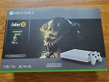 Microsoft Xbox One X 1TB Console Fallout 76 Bundle - White, Sealed Brand New