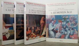 Histoire culturelle de la France - 4 VOLUMES