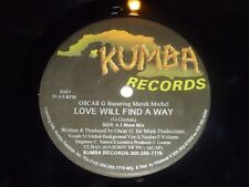 "OSCAR G feat MARCK MICHEL - Love will find away - USA 3-track 12"" Vinyl Single"