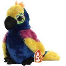 "Ty 6"" WYNNIE the Parrot Beanie Boos Plush Stuffed Animal MWMT's w/ Ty Heart Tags"