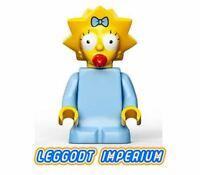 LEGO Minifigure Simpsons - Maggie Simpson - minifig sim005 FREE POST