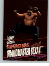 2001 Fleer WWE Wrestlemania #17 Grandmaster Sexay