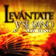 Levantate y se sano Cd Vino Nuevo NEW WINE Musica Cristiana Rock SEALED
