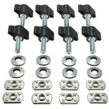 8x Hard Top Quick Removal Fastener Nut Screws Bolt For Jeep Wrangler YJ TJ JK