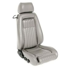 1987-1989 Mustang Convertible Seat Upholstery Front Rear Oxford White Leather