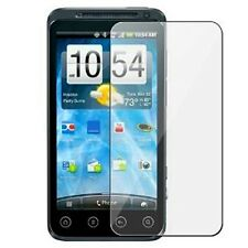 6 Clear Screen Protector Sheild with Cleaning Cloth for HTC EVO V 4G 3D