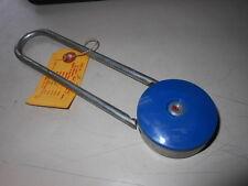 NOS NEW Vintage Antique Gougler Lock Company Keyless Combination Lock 1947 Blue