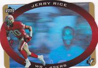 1996  JERRY RICE - S.P.X - Football Card - # 42 - San Francisco 49ers