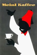 Meinl-Kaffee-café arte cartel impresión publicitaria Cocina A3