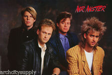 POSTER : MUSIC : MR. MISTER -  4 POSED  - FREE SHIPPING     ! #8154      RAP22 B