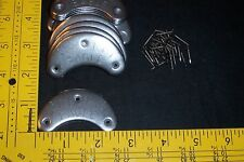 #8 Extra Large Metal Heel Plates ~ 5 pair ~ Shoes & Boots, Inc.s nails