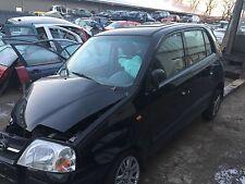 Hyundai Atos (MX) Tür hinten links in schwarz 2006 Baujahr