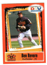 2011 BEN REVERE, DAV Limited Edition #419, Toronto Blue Jays