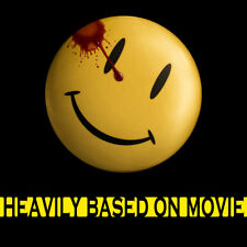 Happy Face Pin back Comedian's Badge Watchmen Pin Badge 58mm/2.2inch Button