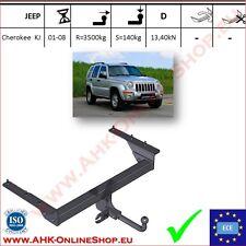 Gancio traino fisso Jeep Cherokee KJ 2001-2007 OMOLOGAZIONE   NUEVO