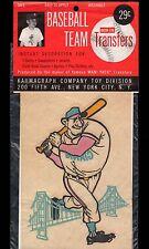 >Old 1962-64 San Francisco Giants MANI-YACK IRON-ON BASEBALL TRANSFER **MIP**