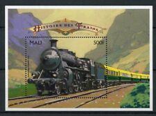 Mali 1996 MNH History of Trains 1v S/S Railways Züge Treni Chemin de Fer Stamps