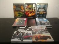 Fast & Furious Movies 1-7 On DVD And Blu-ray