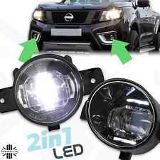 Front Bumper Fog Lights Pair LED+DRL PAIR for Nissan Navara NP300 D23 lamp s