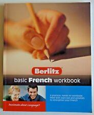 Berlitz Basic French Workbook Paperback 2006 Excellent