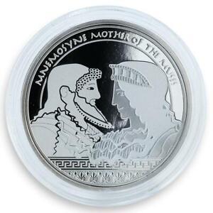 Fiji 2 dollars Mythologies of the World The Muses Mnemosyne Mother  proof 2011