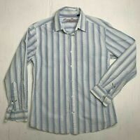 Tommy Bahama Denim Long Sleeve Button Up Collared Casual Dress Shirt Mens Size L