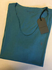 AllSaints Patternless Fitted Short Sleeve T-Shirts for Men