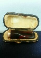 Amber Cigar Holder Victorian Gentleman's in Original Case HS