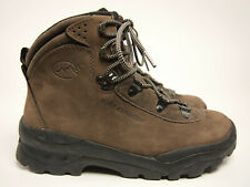 SALOMON Vintage Nubuck Hiking Backpack Boots Wms 8