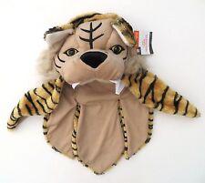 New Youth kid's plush tiger headdress hood hat mask costume dress-up Halloween