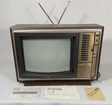 "Sony KV-1542R Trinitron Plus Vintage TV 15"" 1978 With Manual! Excellent!"