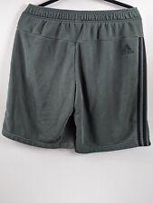 Adidas Gray Shorts , Pockets, Elastic Waist Mens Large Shorts