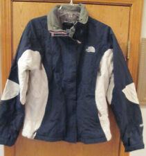 The North Face Womens Size Medium HyVent Winter/Ski Jacket Blue/White
