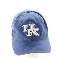 UK- University of Kentucky Logo Cap Hat Blue New Era  Adjustable NCAA