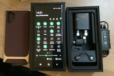 SAMSUNG GALAXY NOTE10+ PLUS SM-N975F/DS - 256GB - AURA BLACK UNLOCKED DUAL SIM