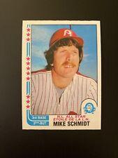 1982 O-Pee-Chee OPC Mike Schmidt #339