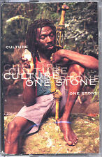 Culture - One Stone - Cassette Tape - SEALED - New Copy - Roots Reggae