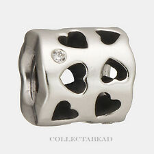 Authentic Pandora Sterling Silver Tunnel of Love CZ Bead 790275CZ  *RETIRED*