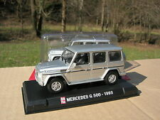 1/43 METAL MERCEDES BENZ G 500 1993 Long 4X4 Gris metal !