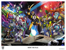 TRANSFORMERS THE PIRATES OF BOTCON 2014 LITHOGRAPH; art poster Hoist the Flag ..