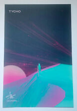 TYCHO *California* Scott Hansen SIGNED Autographed Limited Edition 2013 Poster