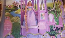 Barbie as Rapunzel Tangled Doll Enchanted Tower Dollhouse Playset Mattel 2002